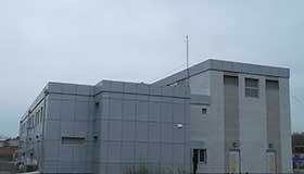 Двоповерхова цегляна будівля ПС110/6 кВ «Аеропорт»